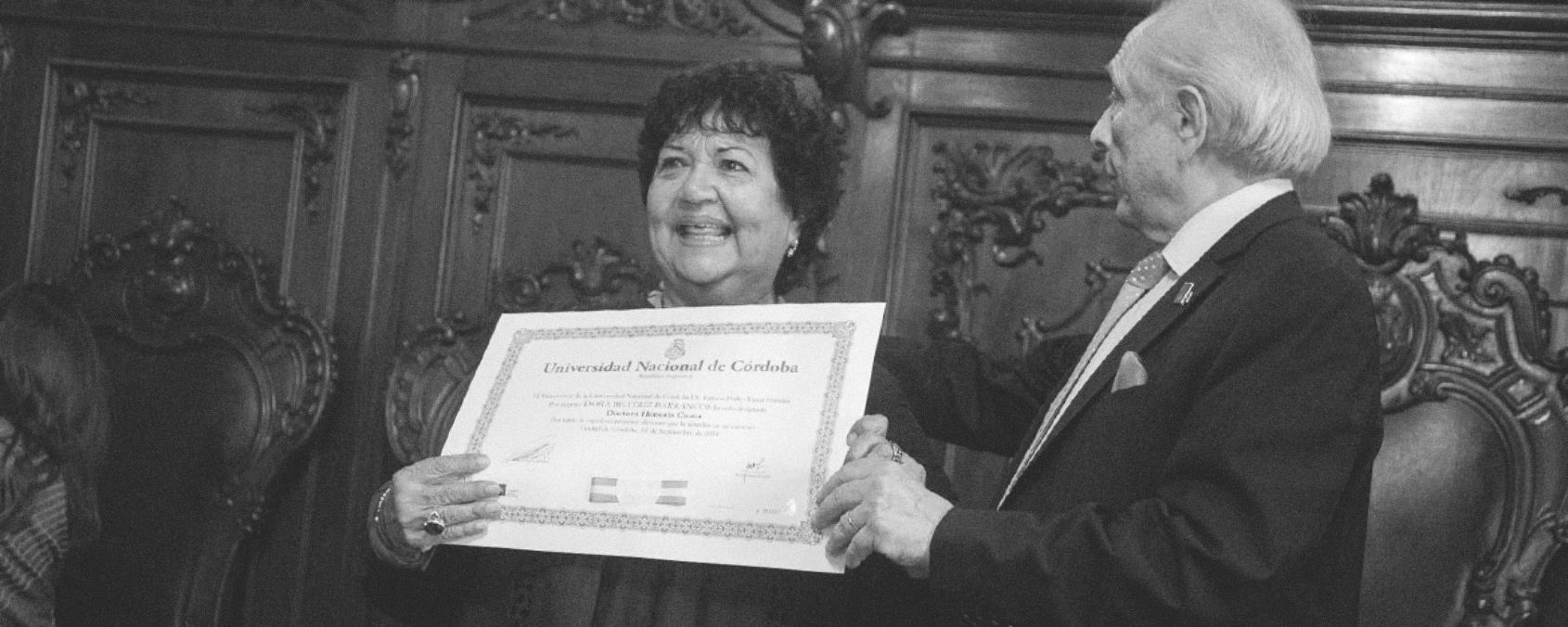 """Dora Barrancos: """"La Universidad tiene obligaciones inmarcesibles con los sectores postergados de la sociedad"""""""