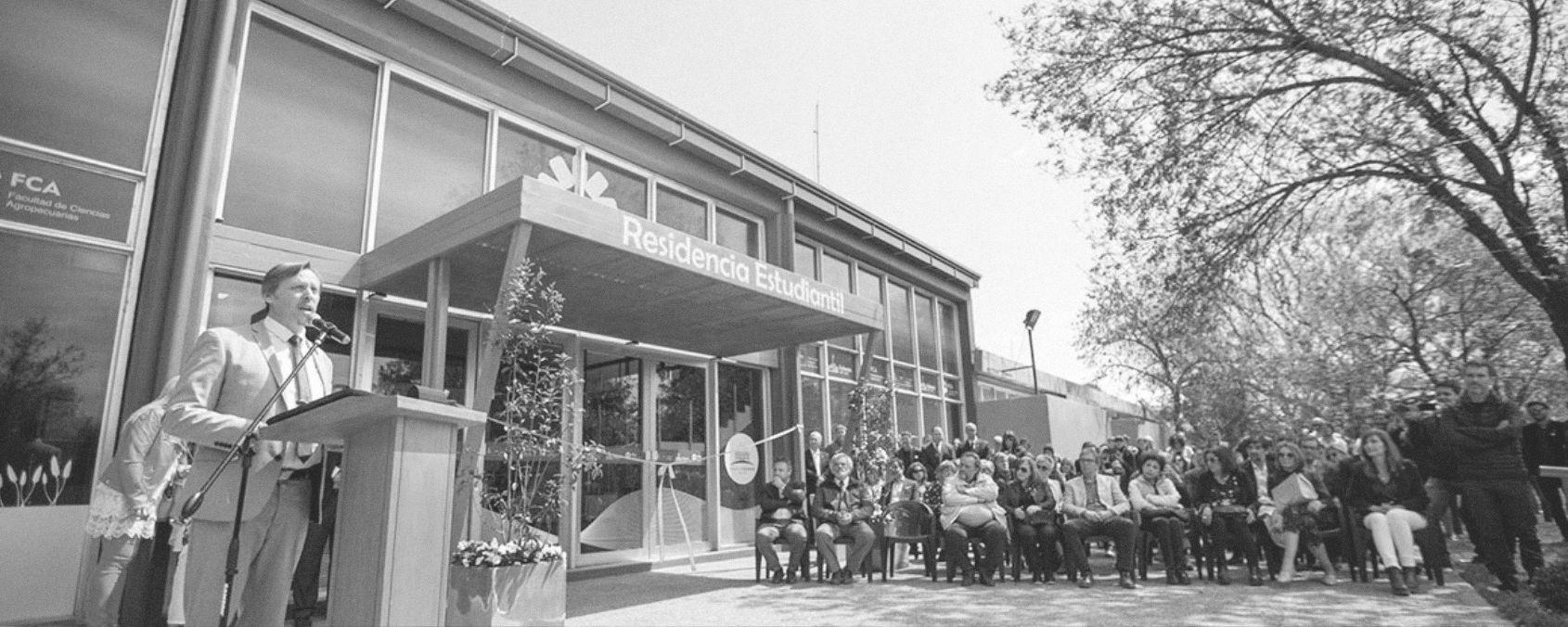 La UNC ya tiene su primera residencia para alojar a estudiantes